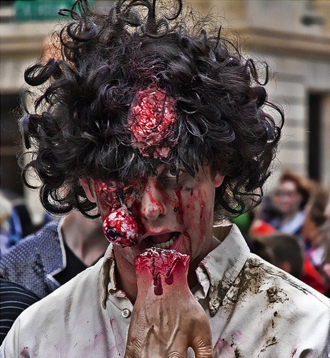 zombiewalk 20 Of The Most Terrifying Halloween Zombie Portraits