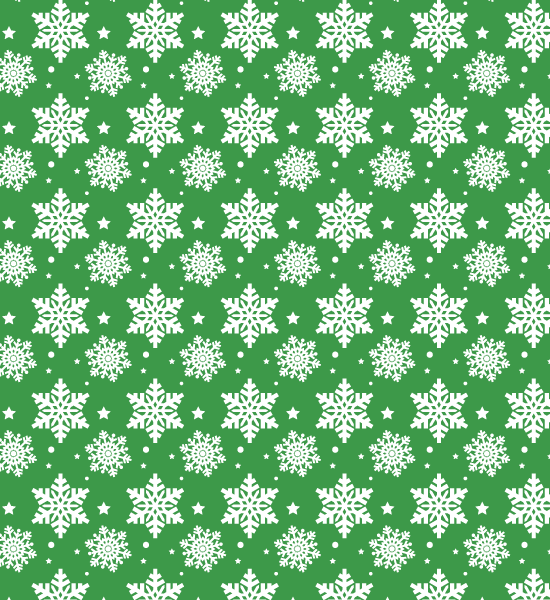greensnowflakepattern Snow Flake Seamless Photoshop Pattern