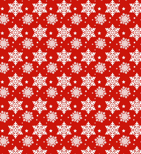redsnowflakepattern Snow Flake Seamless Photoshop Pattern