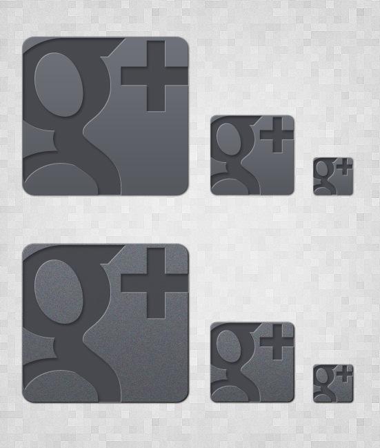 googleplusiconpreview New Google+ Free Icon Set