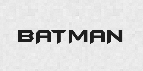 batman 20 Free Fonts Used In Iconic Movies