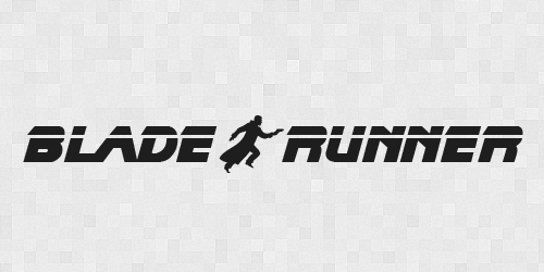 bladerunner 20 Free Fonts Used In Iconic Movies