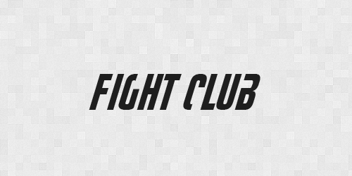 fightclub 20 Free Fonts Used In Iconic Movies