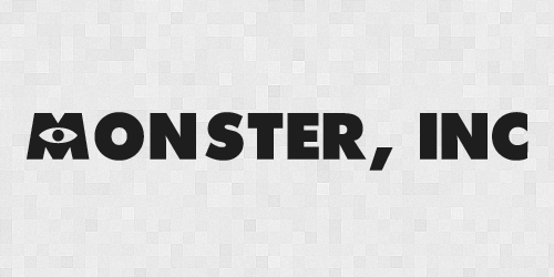 monsterinc 20 Free Fonts Used In Iconic Movies