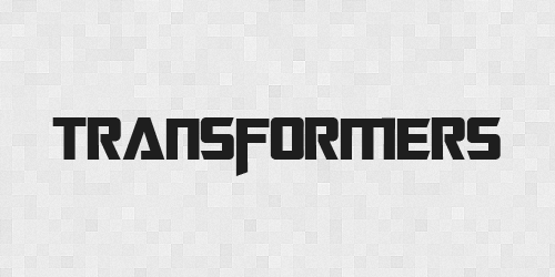 transformers 20 Free Fonts Used In Iconic Movies