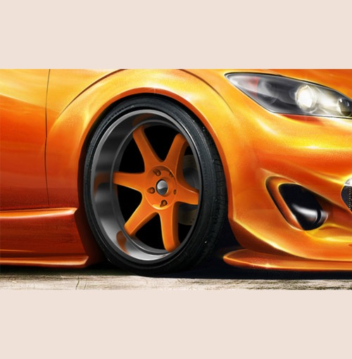 car 30 Photoshop Tutorials For Creating Beautiful Illustration