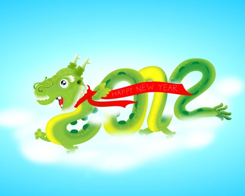 dragonhappynewyear Best Of Web And Design In January 2012