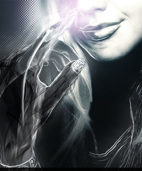 futuristicportait 40 Beautiful Uses Of Photoshop In Digital Art Work