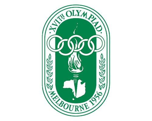 1956olmypiclogodesign The Evolution Of the Summer Olympics Logo Design From 1924 To 2016