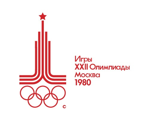 1980olympicslogodesign The Evolution Of the Summer Olympics Logo Design From 1924 To 2016