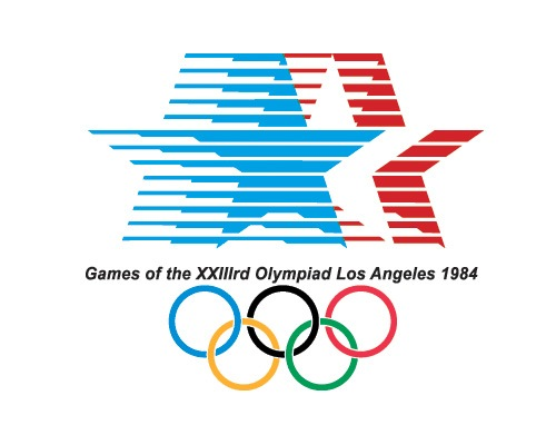 losangeleslogo1984 The Evolution Of the Summer Olympics Logo Design From 1924 To 2016