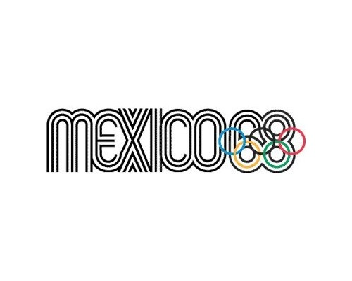 mexico1968 The Evolution Of the Summer Olympics Logo Design From 1924 To 2016