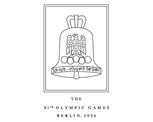 olmypiclogo1936germany The Evolution Of the Summer Olympics Logo Design From 1924 To 2016