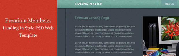 landing-in-style-psd-template