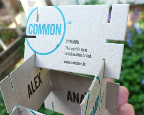 commonbusinesscard 70 Creative And Innovating Business Card Designs You Must See