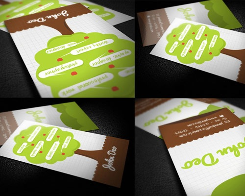 creativetree 70 Creative And Innovating Business Card Designs You Must See