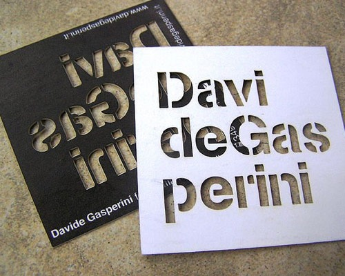 davibusinnesscard 70 Creative And Innovating Business Card Designs You Must See