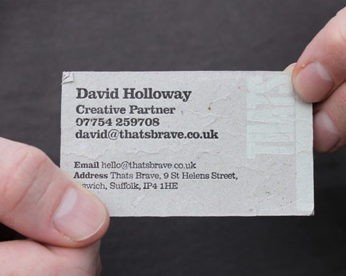 davidhollway 70 Creative And Innovating Business Card Designs You Must See