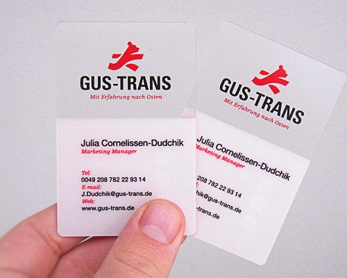 gustrans 70 Creative And Innovating Business Card Designs You Must See