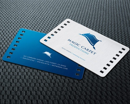 magiccarpet 70 Creative And Innovating Business Card Designs You Must See