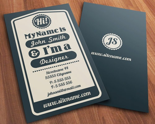 vinatagetypographic 70 Creative And Innovating Business Card Designs You Must See