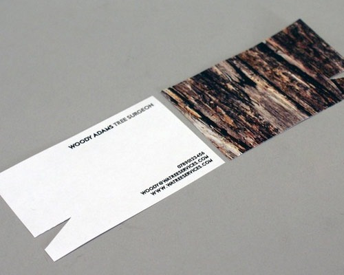 woodyadamsbusinesscards 70 Creative And Innovating Business Card Designs You Must See