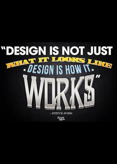 designisnotjustwhatitlookslike 70 Design And Motivational Quotes Visualised A Must Read