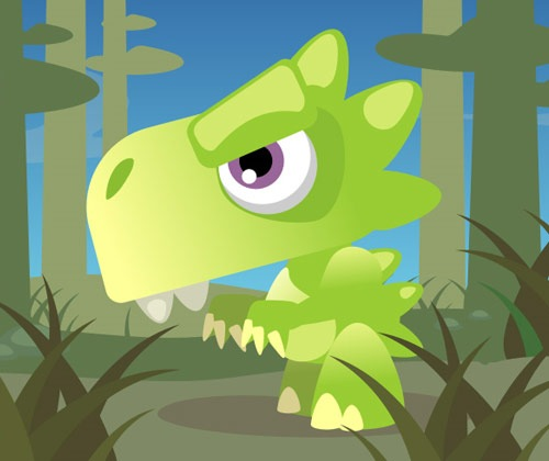 dinosaur 75 Best Illustrator Tutorials From 2012