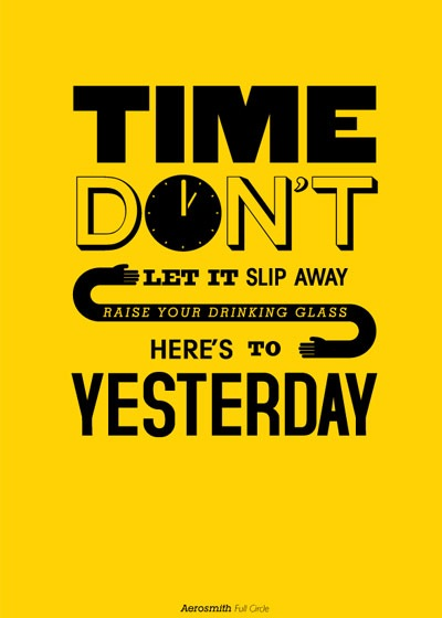 dontlettimeslipaway 70 Design And Motivational Quotes Visualised A Must Read
