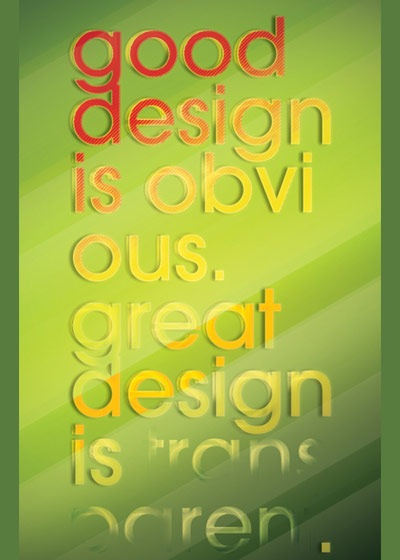 gooddesign 70 Design And Motivational Quotes Visualised A Must Read