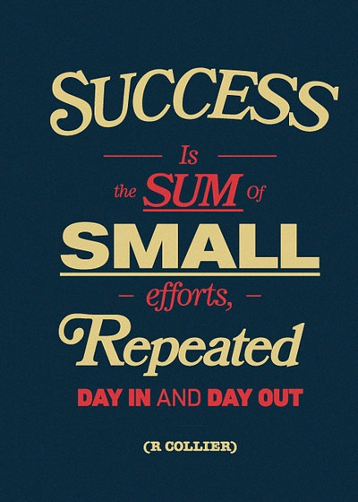 successumsmalleffort 70 Design And Motivational Quotes Visualised A Must Read