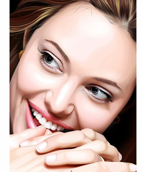 angelinajolie 50 Most Beautiful Vexel Portraits You Will Ever See