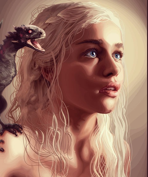 gameofthrones 50 Most Beautiful Vexel Portraits You Will Ever See
