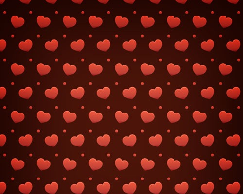heartvalentinepattern 70 Free Photoshop Patterns The ultimate Collection
