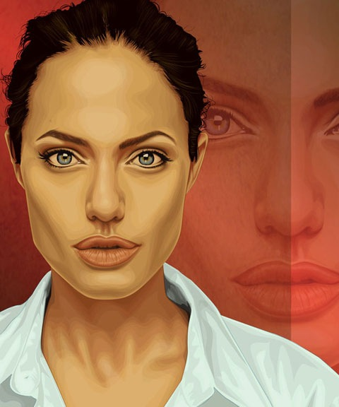 jolie 50 Most Beautiful Vexel Portraits You Will Ever See