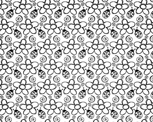 summerbugspattern 70 Free Photoshop Patterns The ultimate Collection