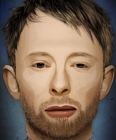 thomyorke 50 Most Beautiful Vexel Portraits You Will Ever See