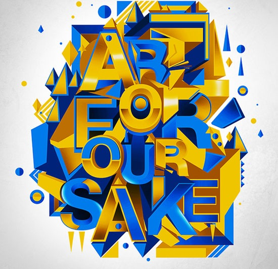 areforoursake 70 Beautiful Typography Designs Truly Jaw Dropping