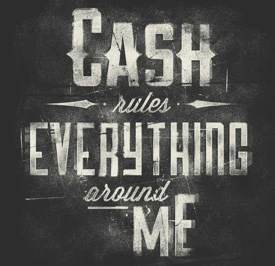 cashruleseverythingaroundme 70 Beautiful Typography Designs Truly Jaw Dropping