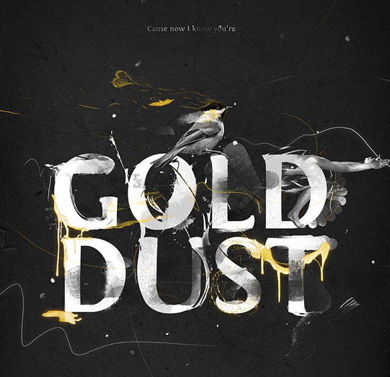 golddust 70 Beautiful Typography Designs Truly Jaw Dropping
