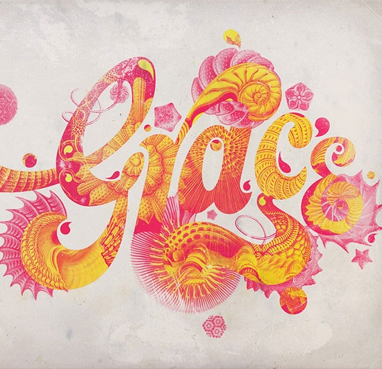 graces 70 Beautiful Typography Designs Truly Jaw Dropping