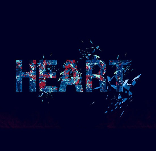 heart 70 Beautiful Typography Designs Truly Jaw Dropping