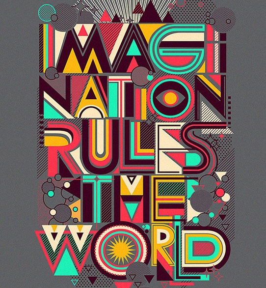 imaginationrulestheworld 70 Beautiful Typography Designs Truly Jaw Dropping