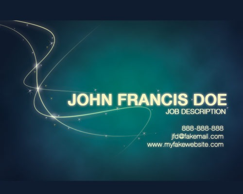 johfrancisdoebusinesscard Best Of Web And Design In July 2012