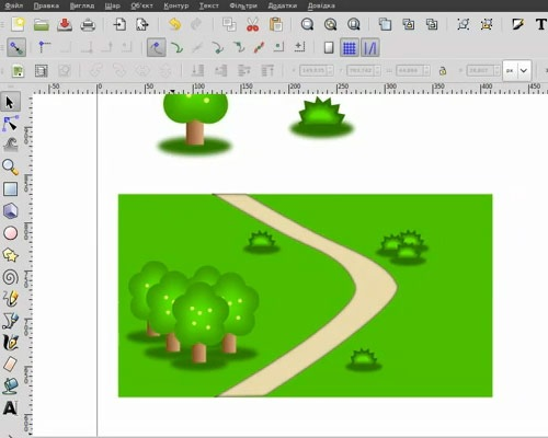 terrain 50 Tutorials For Creating Vector Graphics Using Free Software Inskape