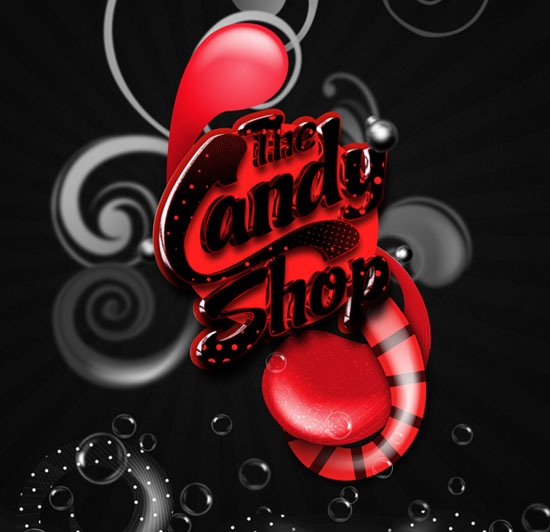 thecandyshop 70 Beautiful Typography Designs Truly Jaw Dropping