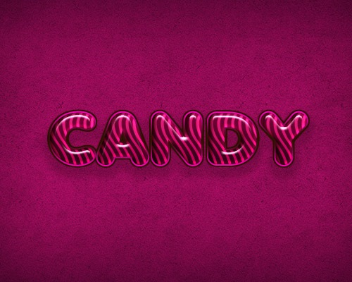 candytexteffrct Best Of Web And Design In August 2012