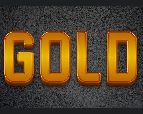 goldtexteffect Best Of Web And Design In August 2012