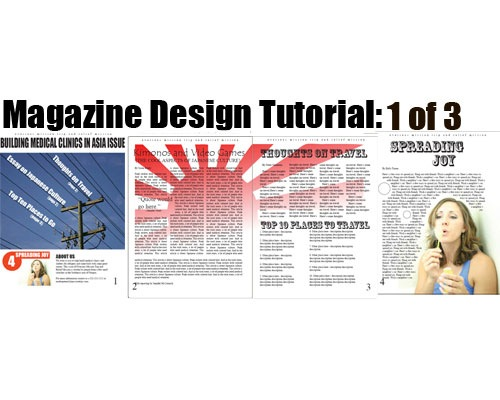 magazine 35 Tutorials For Learning And Mastering Indesign