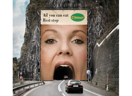 oldtimer 30 Extremely Creative Billboard Designs